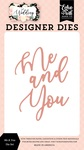Me & You Die Set - Wedding - Echo Park