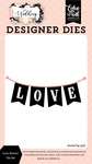 Love Banner Die Set - Wedding - Echo Park