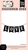 Love Banner Die Set - Wedding - Echo Park - PRE ORDER