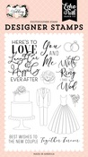 Here's To Love Stamp Set - Wedding - Echo Park - PRE ORDER