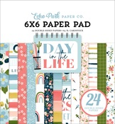 Day In The Life 6x6 Paper Pad - Echo Park