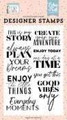 This Is My Story Stamp Set - Day In The Life - Echo Park