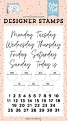 Days Of The Week Stamp Set - Day In The Life - Echo Park