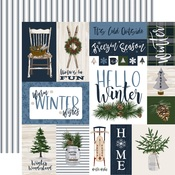Journaling Cards Paper - Welcome Winter - Carta Bella