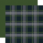 Frigid Flannel Paper - Welcome Winter - Carta Bella