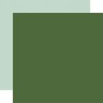 Green / Mint Coordinating Solid Paper - Welcome Winter - Carta Bella