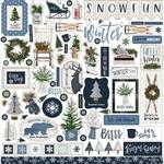 Welcome Winter Element Sticker - Carta Bella