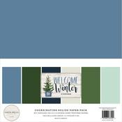 Welcome Winter Solids Kit - Carta Bella - PRE ORDER
