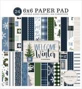 Welcome Winter 6x6 Paper Pad - Carta Bella - PRE ORDER