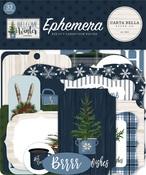 Welcome Winter Ephemera - Carta Bella - PRE ORDER