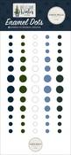 Welcome Winter Enamel Dots - Carta Bella - PRE ORDER