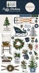 Welcome Winter Puffy Stickers - Carta Bella