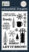 Snow Place Like Home Stamp Set - Welcome Winter - Carta Bella