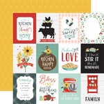 Journaling 3X4 Cards Paper - Sunflower Market - Carta Bella - PRE ORDER