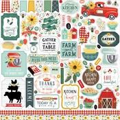 Sunflower Market Element Sticker - Carta Bella