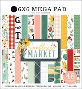 Sunflower Market Cardmakers 6X6 Mega Pad - Carta Bella