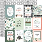 Journaling 3X4 Cards Paper - Gather At Home - Carta Bella
