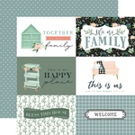 Journaling 6X4 Cards Paper - Gather At Home - Carta Bella
