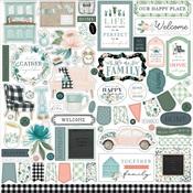 Gather At Home Element Sticker - Carta Bella