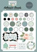 Gather At Home Adhesive Brads - Carta Bella