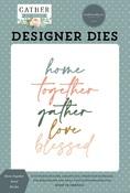 Home Together Word Die Set - Gather At Home - Carta Bella