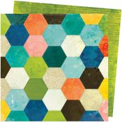 Patchwork Paper - Fernwood - Vicki Boutin - PRE ORDER