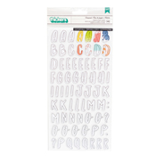 Paintable Alpha Chipboard Thickers - Fernwood - Vicki Boutin