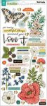 Fernwood Chipboard Stickers with Gold Foil - Vicki Boutin - PRE ORDER