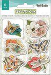 Fernwood Layered Stickers - Vicki Boutin - PRE ORDER