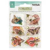 Fernwood Layered Stickers - Vicki Boutin