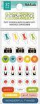 Fernwood Mini Puffy Stickers - Vicki Boutin - PRE ORDER