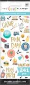 Happy Summer 8 Sticker Sheets - Me & My Big Ideas