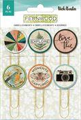 Fernwood Epoxy Paper Clips - Vicki Boutin