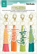 Fernwood Tassels with Acrylic Charms - Vicki Boutin