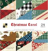 Christmas Carol 6x6 Paper Stack - Die Cuts With A View