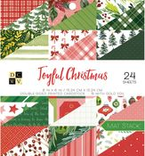Joyful Christmas 6x6 Paper Stack - Die Cuts With A View
