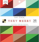 Very Merry 6x6 Paper Stack - Die Cuts With A View