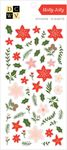 Holly Jolly Gold Foil Stickers - Die Cuts With A View - PRE ORDER