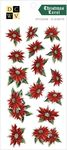 Christmas Carol Silver Foil Stickers - Die Cuts With A View - PRE ORDER