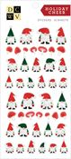 Holiday Cheer Gold Foil Stickers - Die Cuts With A View