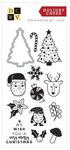 Holiday Cheer Stamp and Die Set - Die Cuts With A View - PRE ORDER