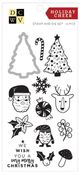 Holiday Cheer Stamp and Die Set - Die Cuts With A View