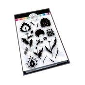 Damask Floral Stamp Set - Catherine Pooler