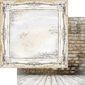 Ornate Paper - Brick Wall & Frames - Memory-Place - PRE ORDER