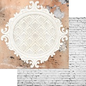 Charmed Paper - Brick Wall & Frames - Memory-Place - PRE ORDER
