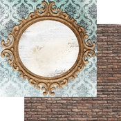 Mirror Mirror Paper - Brick Wall & Frames - Memory-Place - PRE ORDER