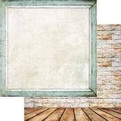 Calm Paper - Brick Wall & Frames - Memory-Place - PRE ORDER