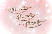 Magical Chipboard Embellishments - Memory-Place - PRE ORDER