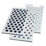 Slimline Stars Builder Layering Stencil - Pinkfresh