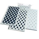 Slimline Diamond Builder Layering Stencil - Pinkfresh